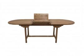 Tisch Geko oval ausziehbar