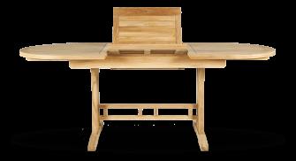 Gartentisch ausziehbar aus Teakholz