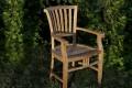 Massivholz Stuhl beständig