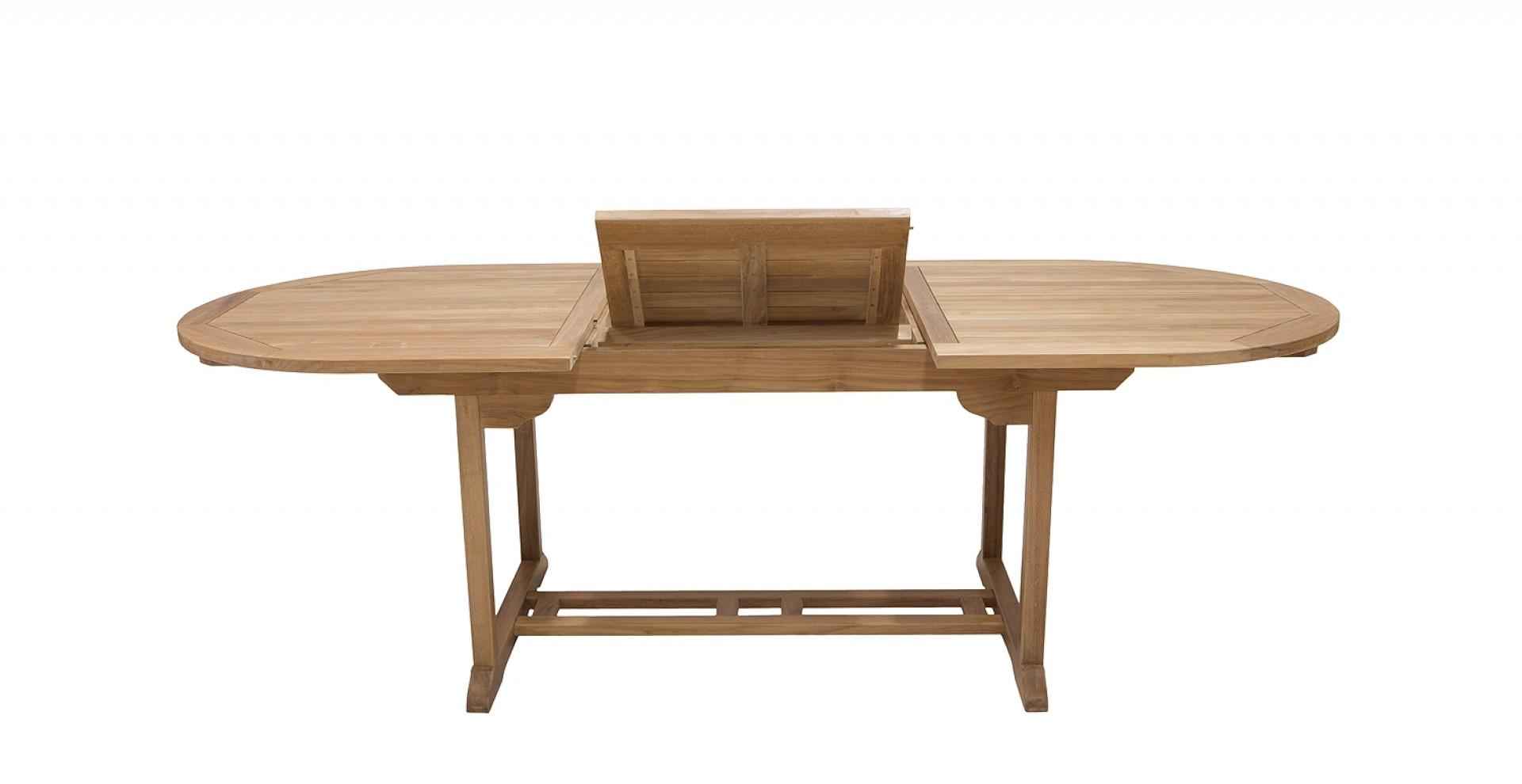 tisch royal oval ausziehbar. Black Bedroom Furniture Sets. Home Design Ideas