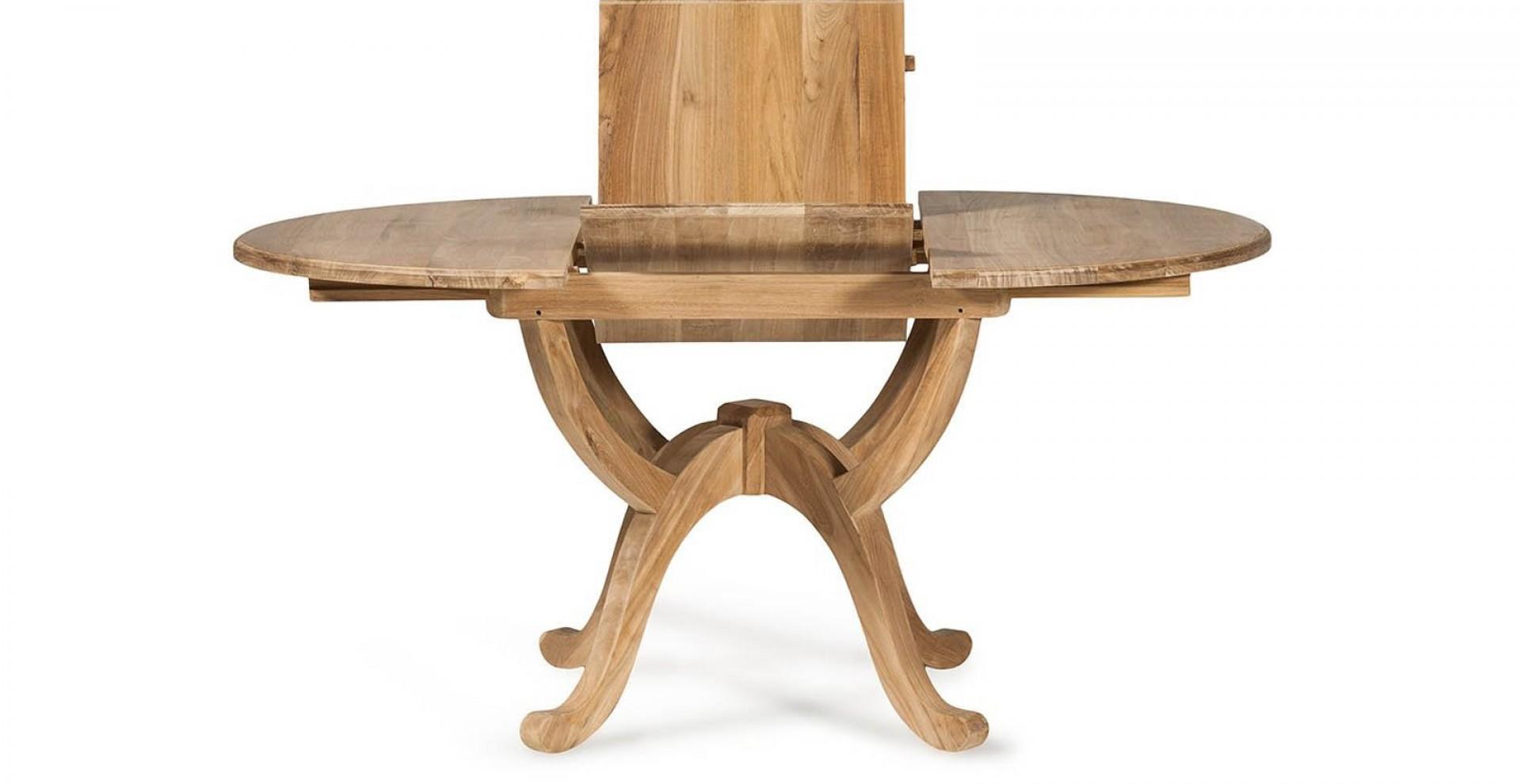 tisch astor oval id ausziehbar. Black Bedroom Furniture Sets. Home Design Ideas