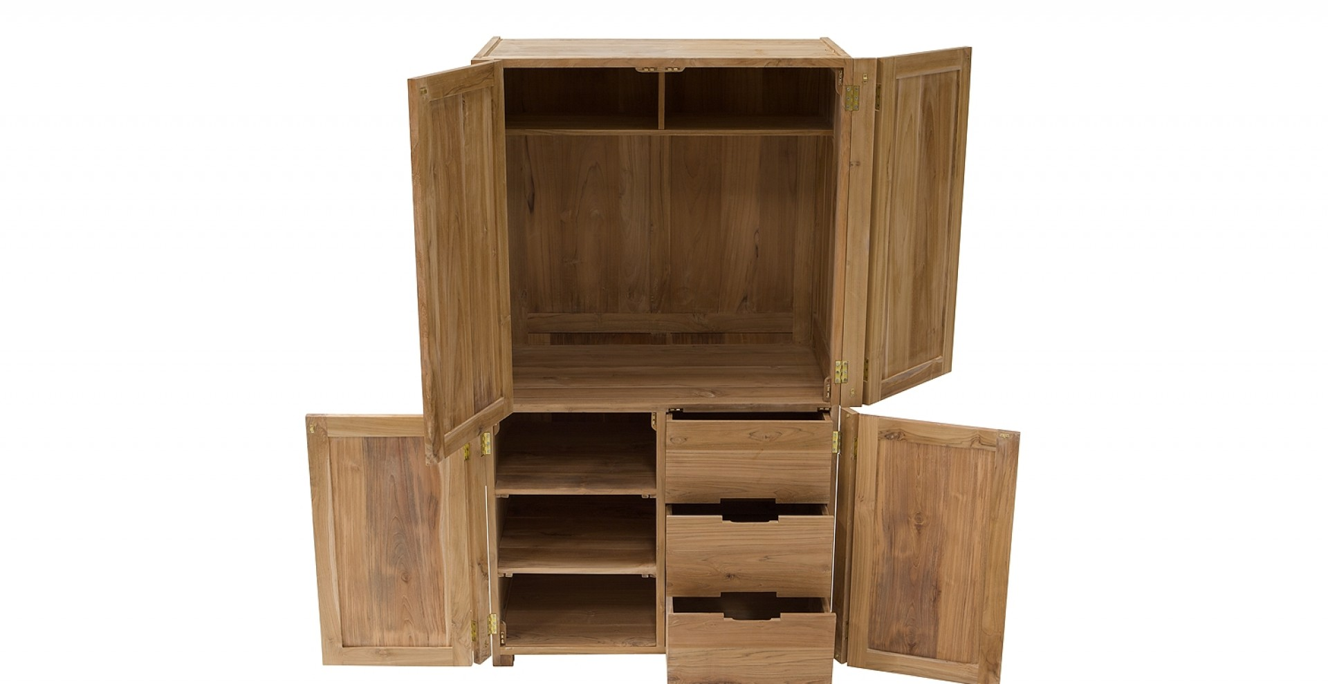 tv schrank aus teak vollholz. Black Bedroom Furniture Sets. Home Design Ideas