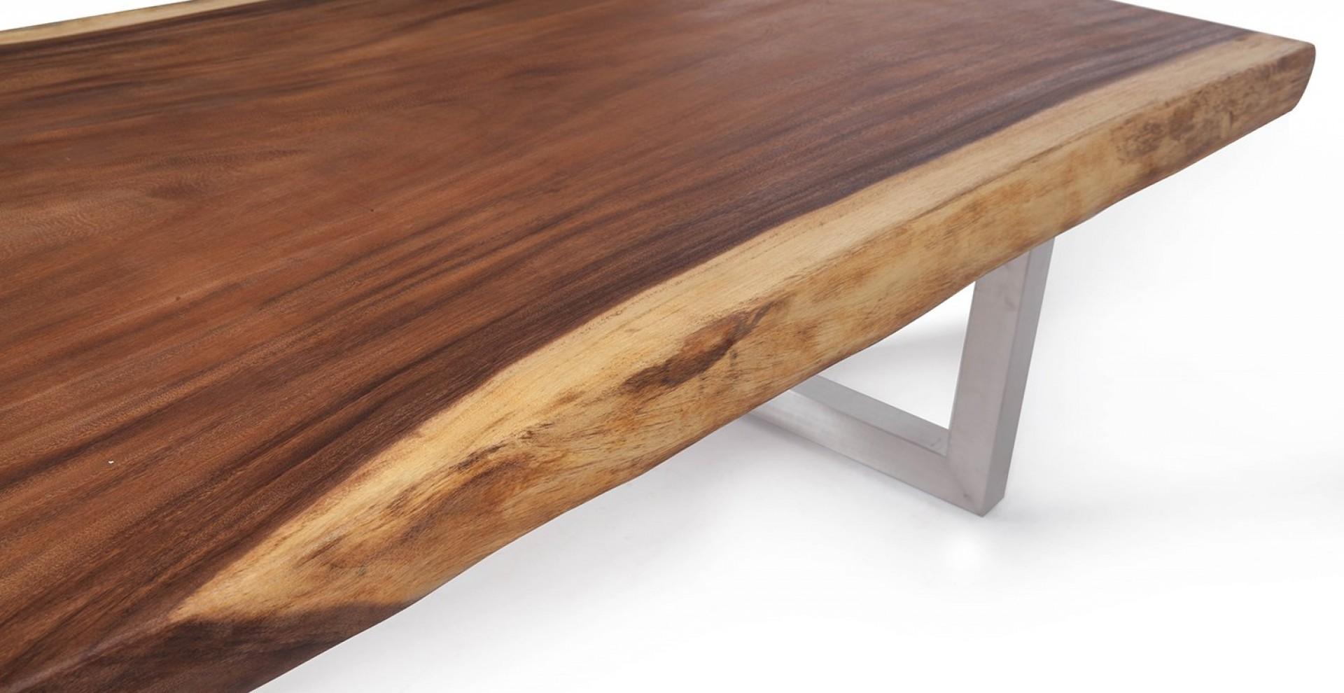 tischplatte aus baumstamm elegant massiver baumstamm tisch mammut cm massivholz akazie. Black Bedroom Furniture Sets. Home Design Ideas