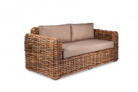 Sofa Indoor/Outdoor Naturrattan Kubu 02