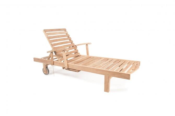 sonnenliege junior mit arm. Black Bedroom Furniture Sets. Home Design Ideas