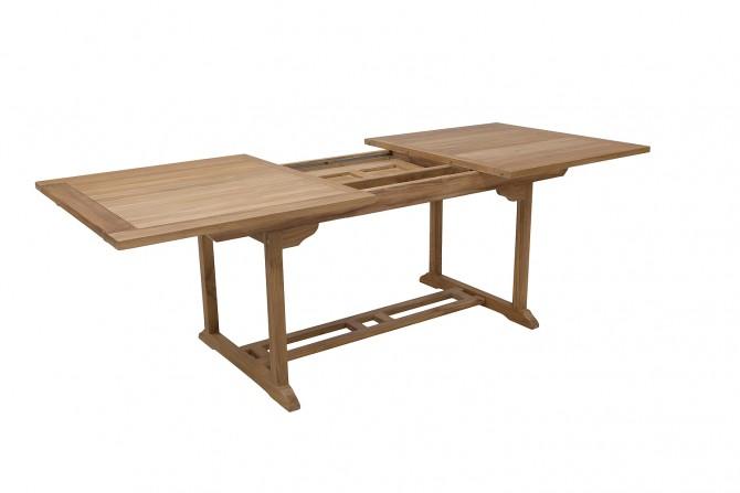 Gartentisch ausziehbar Rechteckig Robust