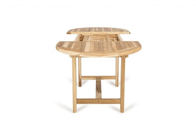 Ausziehbarer Tisch Massivholz