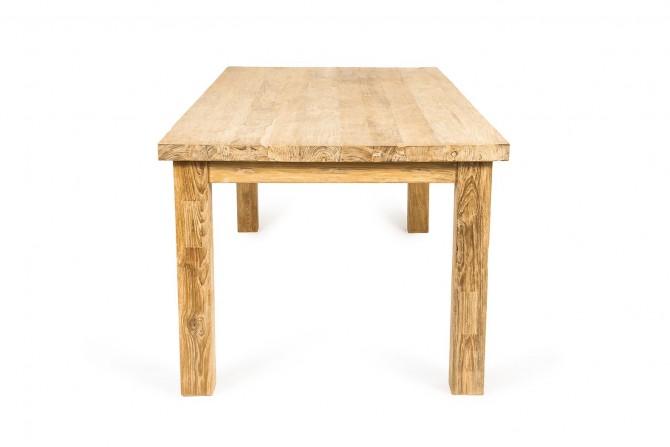 Massivholztisch aus altem Teakholz