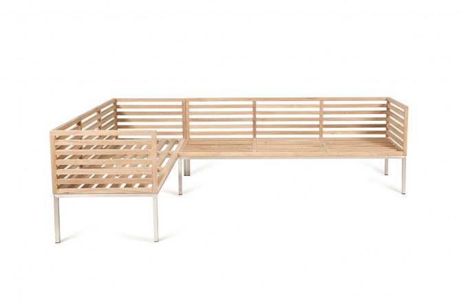 Eckbank Holz