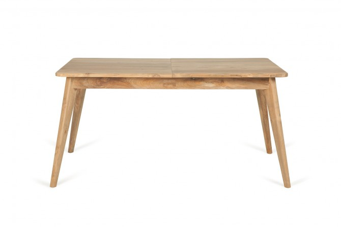 tisch Ausziehbar, Holztisch zum Ausziehen, Massivholz Tisch, Tisch Recycled Holz zum Vergrössern