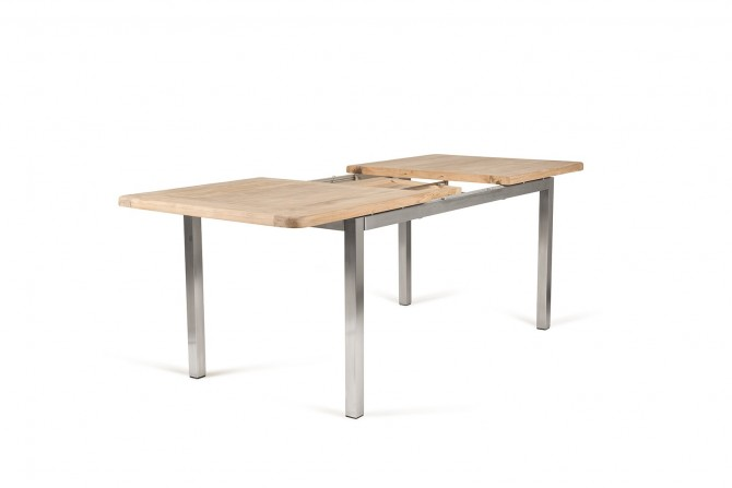 Teakholz Tisch ausziehbar