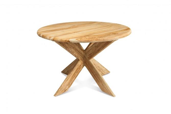 Runde Teak Tisch