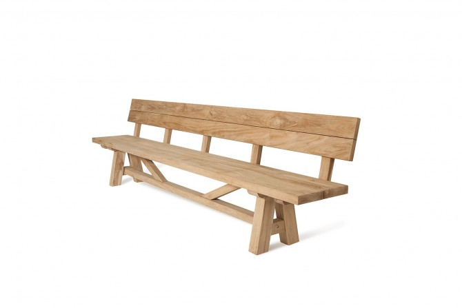 Gartenbank Holz