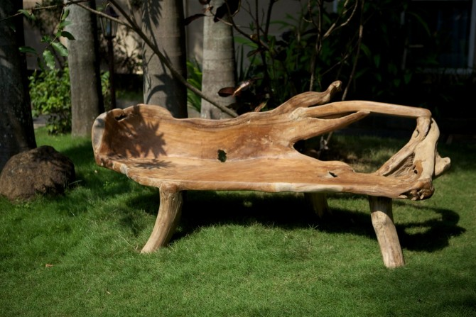 Gartenbank Massivholz günstig