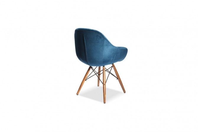 Stuhl Eco Blau