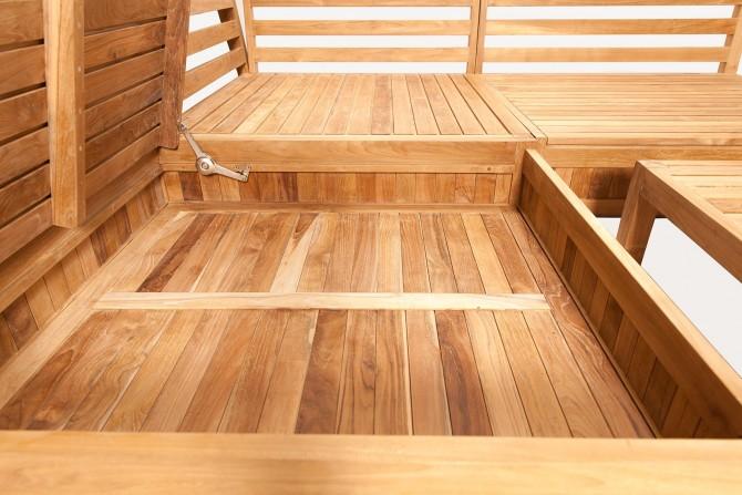 Lounge Box für Auflagen Garten und Terasse