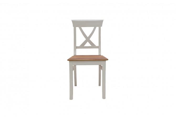 Teakholz Stuhl mit hoher Lehne