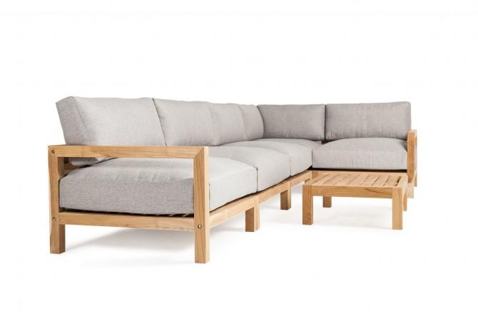 Massivholz Lounge