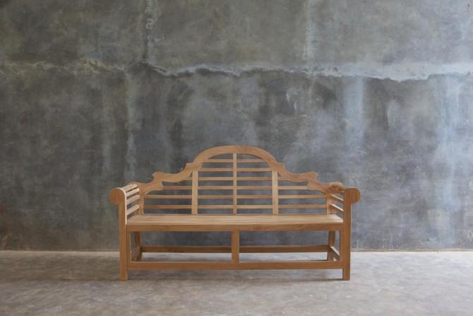 Holzbank langlebig