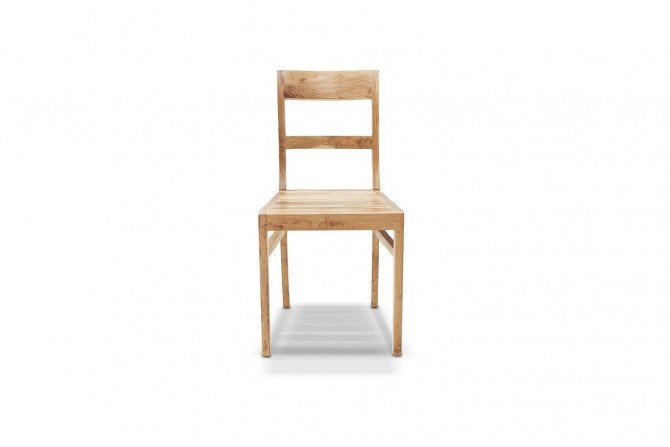 Massivholz Stuhl wetterbeständig