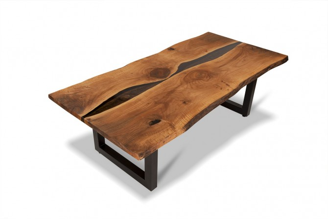 nusstisch, esstisch nussholz, nusstischplatte, nussholz massiv tisch,