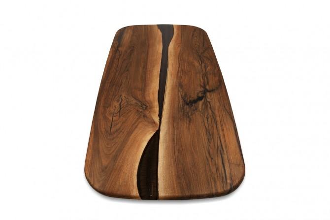 epoxidharztisch , naturholz tisch