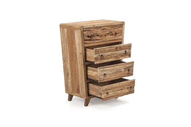 Massivholz Schrank geöffnete Schubladen