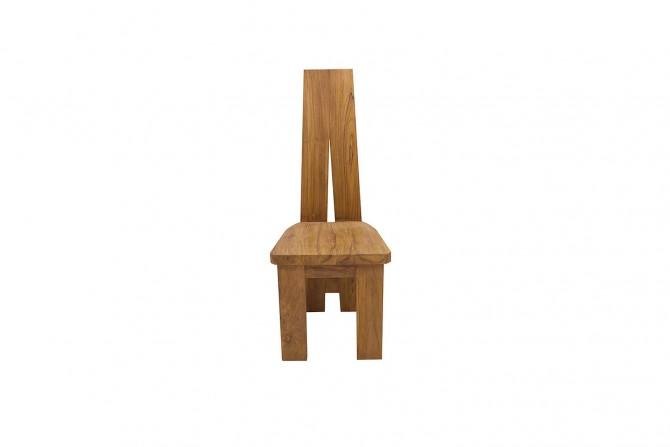 Massivholz Stuhl Teak